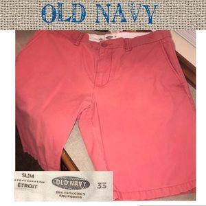 🔥🔥Old Navy slim shorts